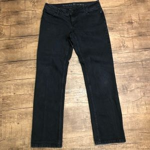 Simply Vera by Vera Wang Black Straight Jeans